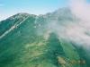 1856m峰付近の岩稜