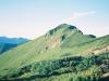 ビバーク地付近より1856m峰を望む