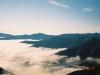 1967m峰より十勝幌尻岳(左)・札内岳(中央左)・エサオマントッタベツ岳(右)・カムイエクチカウシ山(右端)を望む