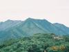 伏美岳よりピパイロ岳を望む