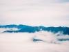 伏美岳よりチロロ岳・国境稜線を望む