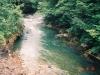 緩やかな流れの美生川