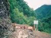 車止めにある林道ゲート