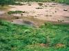 七ツ沼カールの干からびた沼