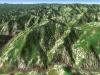 北日高縦走第1行程3D図その2