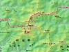 北日高縦走全体地図