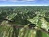 北日高縦走第2行程3D図その3