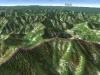 北日高縦走第3行程3D図その1