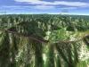 北日高縦走第3行程3D図その2