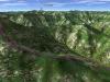 北日高縦走第3行程3D図その3