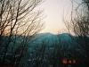 三角山より百松沢山を望む