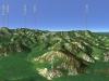 八剣山3D図