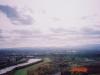 モエレ山より樽前山・恵庭岳方面・札幌市南東部を望む