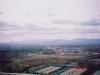 モエレ山より恵庭岳・空沼岳方面・藻岩山・札幌市中央部・南部を望む