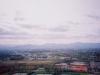 モエレ山より藻岩山・砥石山・百松沢山・札幌市南西部方面を望む