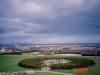 モエレ山より札幌市北東部・中沼団地方面を望む