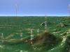 三角山3D図