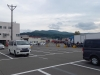 小樽フェリーターミナル前より毛無山方面を望む
