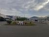 小樽フェリーターミナル前より天狗山方面を望む