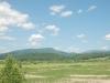 道道939号線名寄川北側付近よりピヤシリ山方面を望む