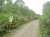 ピヤシリ山頂まであと1kmの標識