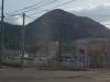 宮の森北24条通と山の手通りとの交差点付近より三角山を望む