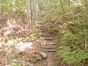 四の坂の木段の登り