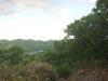 三角山より宮の森ジャンプ競技場(左)を望む