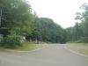 士別神社社務所前から南側を望む