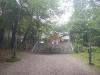 士別神社本殿手前にある石段