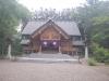 九十九山頂上部にある士別神社本殿
